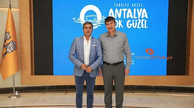 Necati Şaşmaz Türel'i ziyaret etti