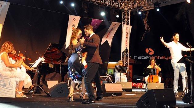 Phaselis'te tango rüzgarı