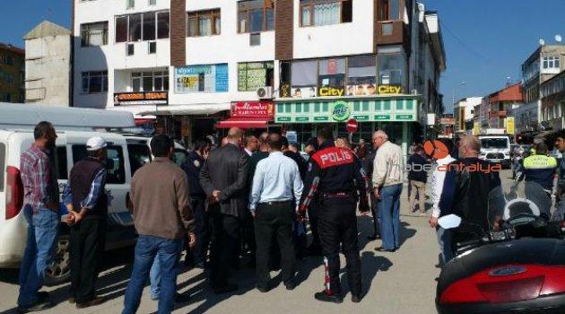 Polise kafa atan taksi şoförü tutuklandı