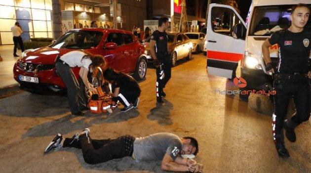 Polisle arbedede ağır yaralanan Rus turist yoğun bakımda