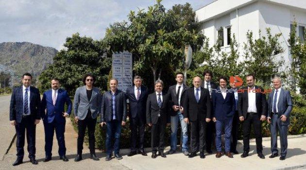 Serbest bölge işadamları Antalya'da buluştu
