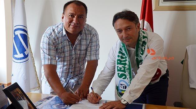 Serik Belediyespor'a sağlık sponsoru