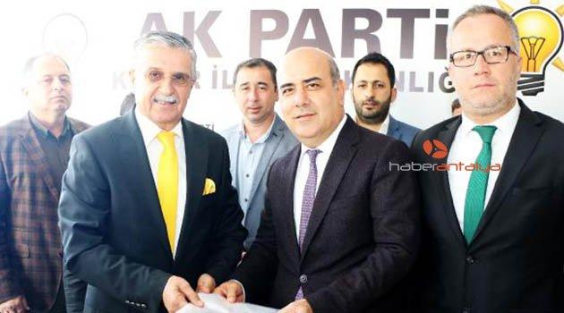 Topaloğlu, Ak Parti'den aday adayı