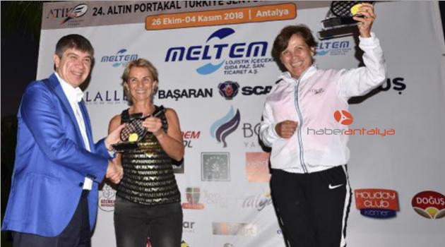 Türkiye Senyör Tenis Turnuvası sona erdi