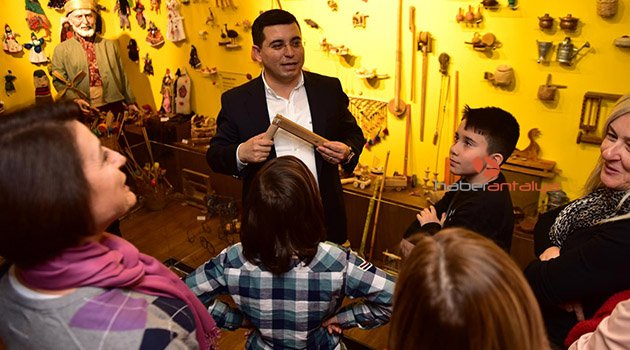 Tütüncü'den ANTİKAD üyelerine müze turu