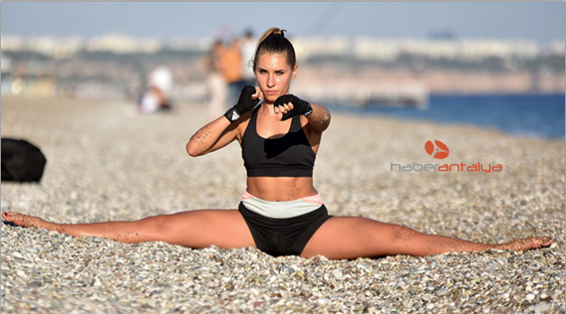 Ukraynalı Julia: Şampiyon Türk sporcusu olmak istiyorum