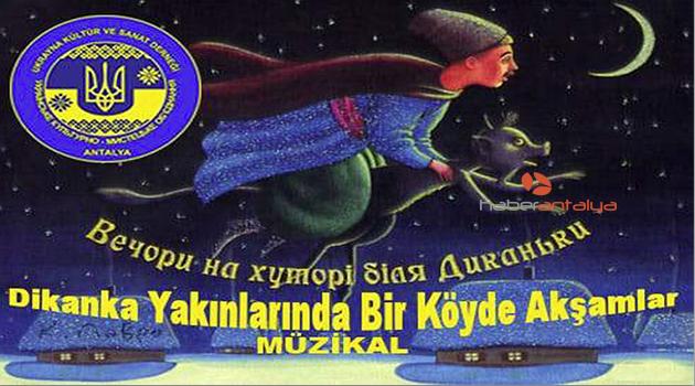 Ukraynalılar, Gogol'un kitabını müzikalleştirdi