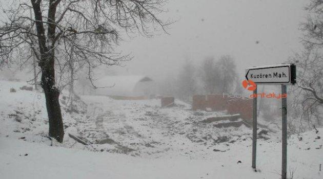 Yangın sonrası 5 kişilik ailenin kaybolduğu köyde tedirginlik