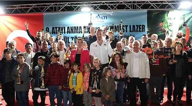 Yat ve Yelkenler Atatürk Kupası için yarıştı