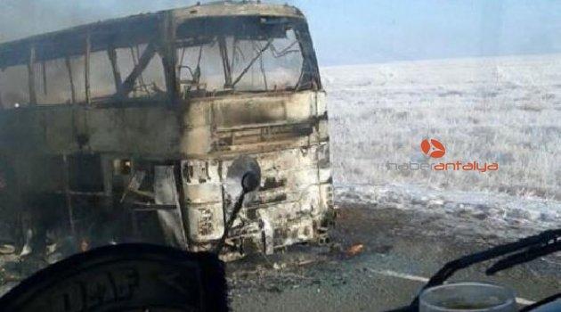 Yolcu otobüsü yandı: 52 kişi feci şekilde can verdi