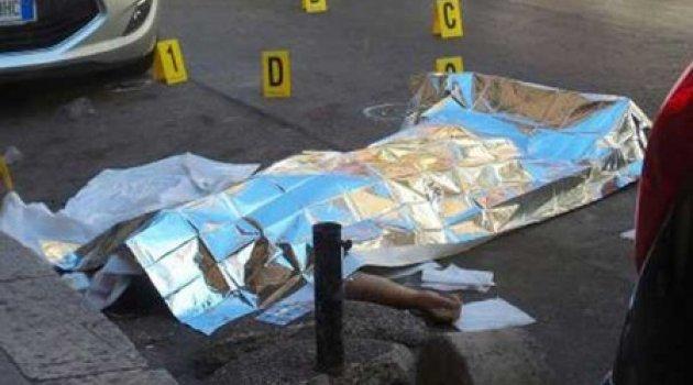 Mafya patronu sokak ortasında öldürüldü