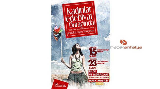 Manavgat'ta ödüllü öykü yarışması