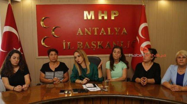 MHP'li kadınlar, çocuk istismarcılarına idam istedi