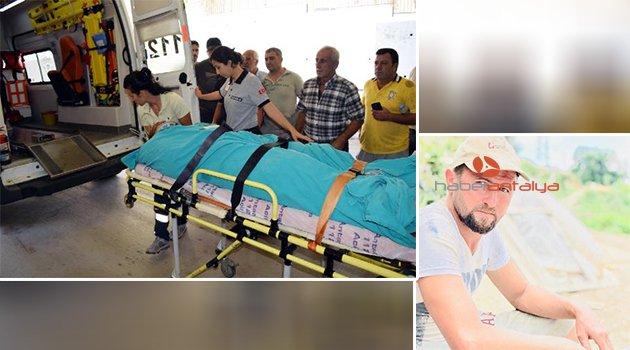Muz serasında akıma kapılan işçi ağır yaralandı