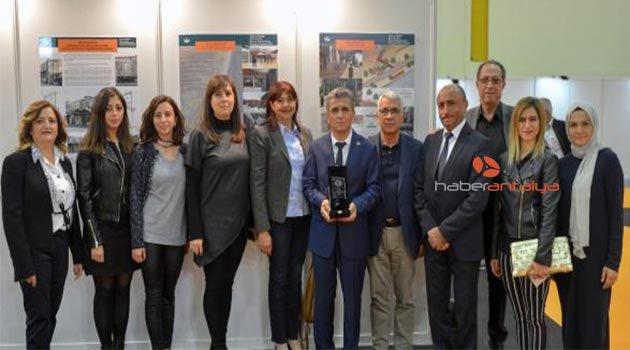 Olmypos Projesi'ne TKB'den ödül