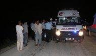 Otomobil sulama kanalına düştü: 1 ölü 2 yaralı