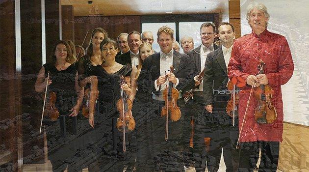 Perge Antik Kenti'nde 'Johann Strauss Ensemble' konseri