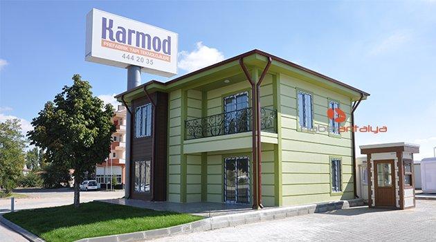 Prefabrik evlerin lider markası Antalya'da