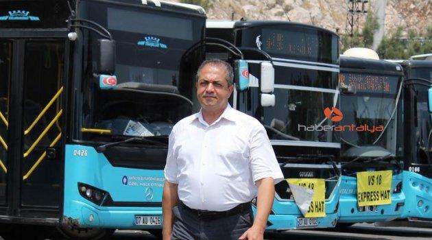 Rahatsızlanan yolcuyu belediye otobüsüyle hastaneye götürdü