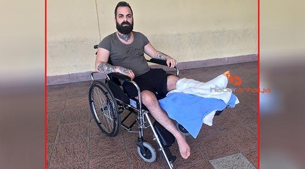 Rehberin dikilen ayağı, 10 ay sonra kesildi