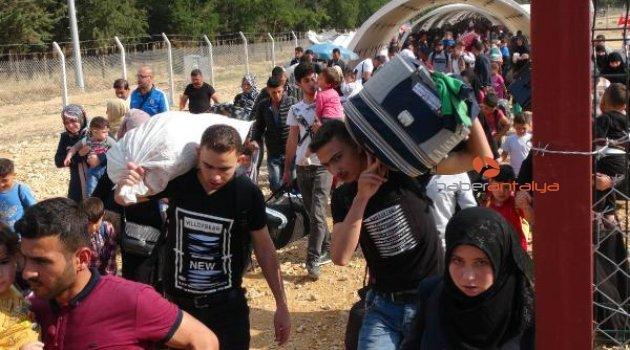 Suriyelilerin bayram için gidişi sürüyor