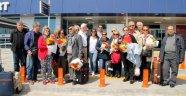Emeklilere İndirimli Tatilde İlk Kafile Alanya'ya Geldi