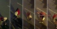 Sokakta yürüyen kadını dakikalarca taciz etti