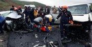 Feci kazada ortalık savaş alanına döndü: 5 ölü, 10 yaralı