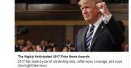 """ABD Başkanı Trump """"yalan habercilik"""" ödüllerini açıkladı"""