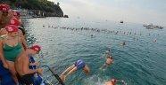 Açık Su Yüzme Yarışlarına yoğun ilgi