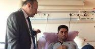 Afrin gazisi yüzbaşının tedavisi AÜ'de yapıldı