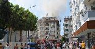 Alanya'da 5 katlı otelde yangın