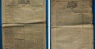 Antalya'da 100 yıl öncesinin gazetesi bulundu