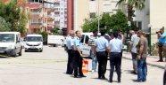 Antalya'da saniye saniye aracın benzinle yakılma anı