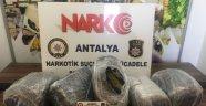 Antalya'da uyuşturucu operasyonu: 3 kişi tutuklandı