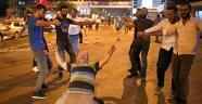 Antalya'da coşkulu seçim sonucu kutlaması