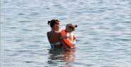 Antalya'da ekim ayında deniz keyfi