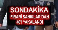 ANTALYA'DA FETÖ OPERASYONU: 40 GÖZALTI