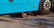 Antalya'da otobüs şoförünün inanılmaz ölümü
