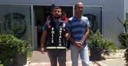 Antalya'da resmi kurumdan tabanca hırsızlığı