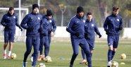 Antalyaspor'da Eto'o ve yeni transfer Hakan takımla çalıştı