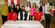 Antalyasporlu devler, öğrencilerle buluştu