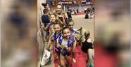 Antalyasporlu jimnastikçiler 4 madalyayla döndü