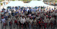 Arslanbucak'ta bisiklet sevinci