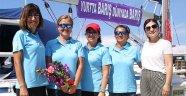 'Barışa yelken açan kadınlar' Alanya'da