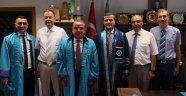 Başkan Böcek, 'Yüksek Lisans' diplomasını aldı