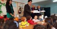Başkan Gül 853 öğrenciye pizza ısmarladı