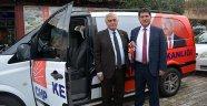 Başkan Gül, minibüs hediye etti