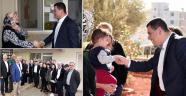Başkan Tütüncü'nün site ziyaretleri