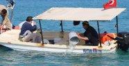 Batma tehlikesi geçiren tekneyi Sahil Güvenlik kurtardı